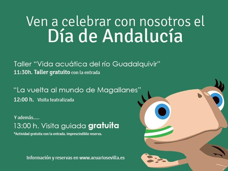 Día de Andalucía 2017 en el Acuario de Sevilla