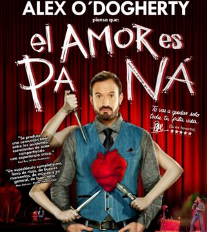 """El Amor es Pa Ná"". Alex O'Dogherty en FIBES Sevilla."