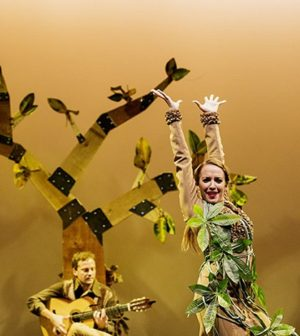 """'El árbol con alas'. 27 Ciclo """"El Teatro y la Escuela"""". Teatro Alameda Sevilla"""