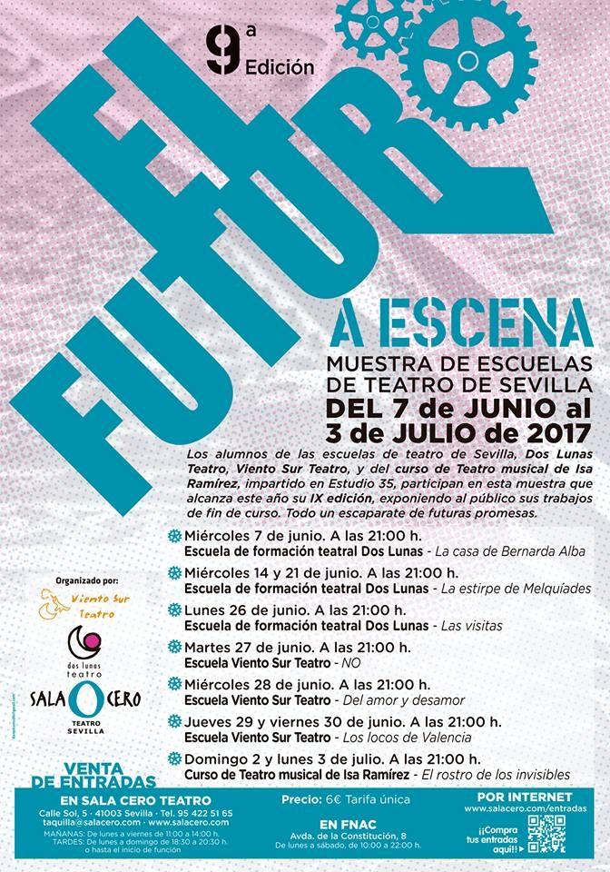 El Futuro a Escena. Sala Cero Teatro, Sevilla