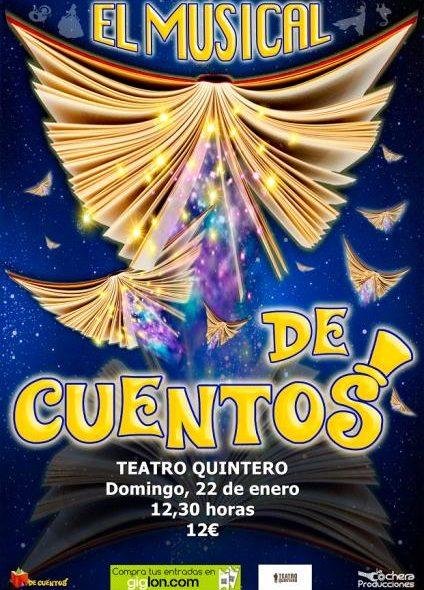 El Musical de Cuentos Teatro Quintero Sevilla