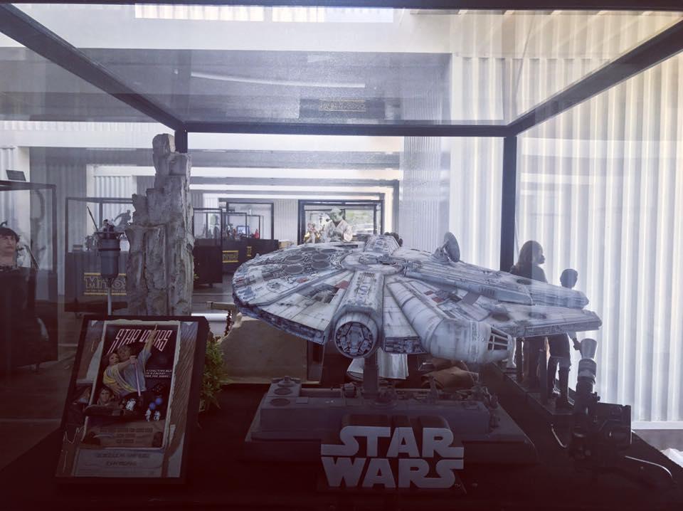"""Exposición Star Wars: """"Mitos de una galaxia muy lejana"""". La Guerra de las Galaxias llega al Muelle de las Delicias, Sevilla"""