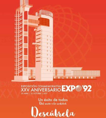 Exposición conmemorativa del XXV Aniversario de EXPO'92. Pabellón de la Navegación, Sevilla