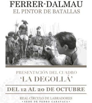 Exposición de Ferrer-Dalmau 'El pintor de batallas' en Real Círculo de Labradores, Sevilla