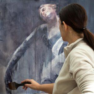 """Exposición """"Luces Desordenadas"""", de Virginia Saldaña, en el Real Alcázar de Sevilla."""