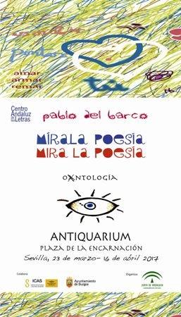 exposicion-mirala-poesia-mira-la-poesia-antiquarium-sevilla-cartel