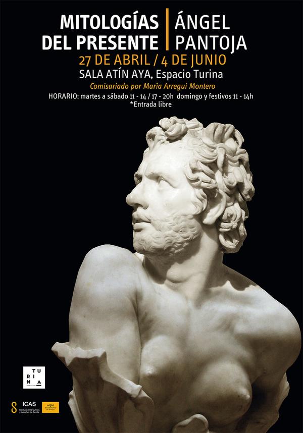 Exposición 'Mitologías del presente' de Ángel Pantoja. En Espacio Turina, Sevilla