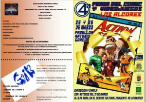 """Feria del cómic y videojuegos """"Los Alcores"""" 2017. En Mairena Del Alcor"""