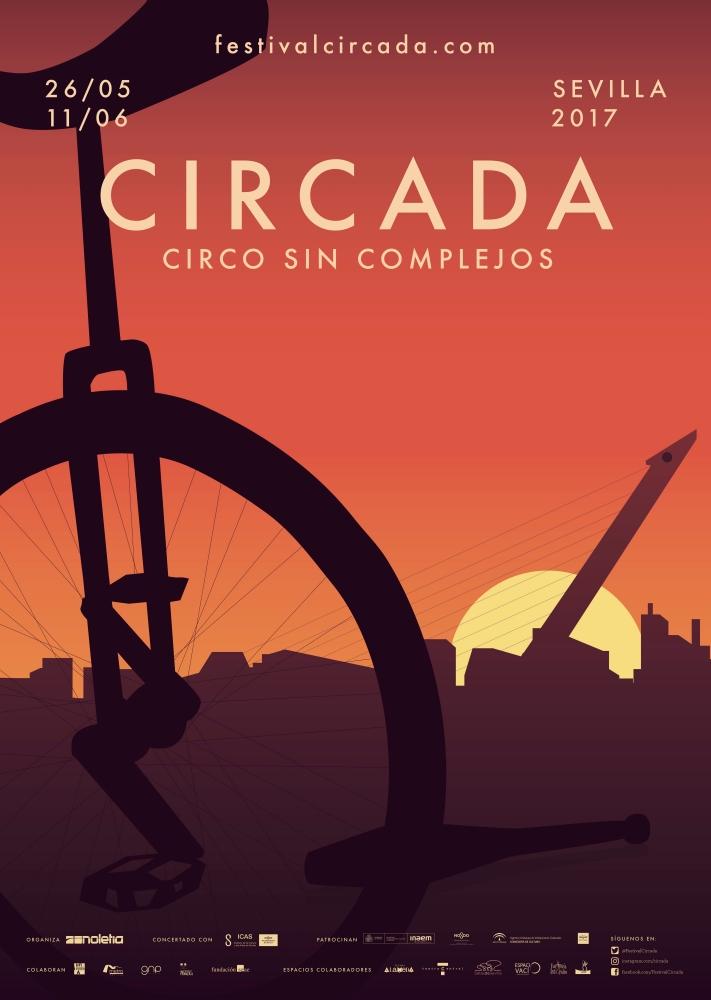 FESTIVAL CIRCADA 2017. FESTIVAL DE CIRCO EN SEVILLA