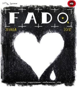 Festival de Fado. Drama mudo, blanco y negro. Consulado de Portugal en Sevilla