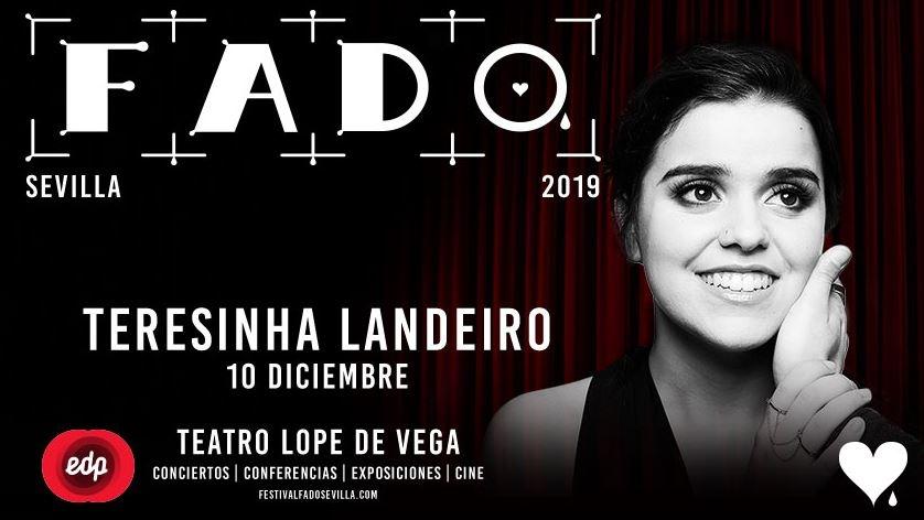 TERESINHA LANDEIRO. Festival de Fado 2019 en Teatro Lope de Vega, Sevilla