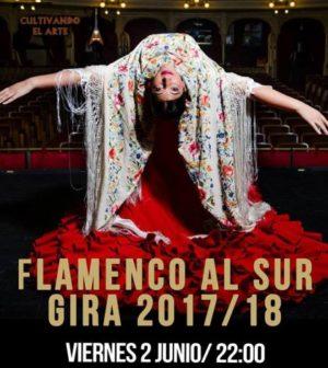Flamenco Al Sur. Gira 2016-2017. En El Teatro de Triana, Sevilla