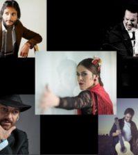 JESÚS MÉNDEZ, ANTONIO REYES, DUQUENDE, DANI DE MORÓN Y PATRICIA GUERRERO. Flamenco en el Teatro de la Maestranza, Sevilla