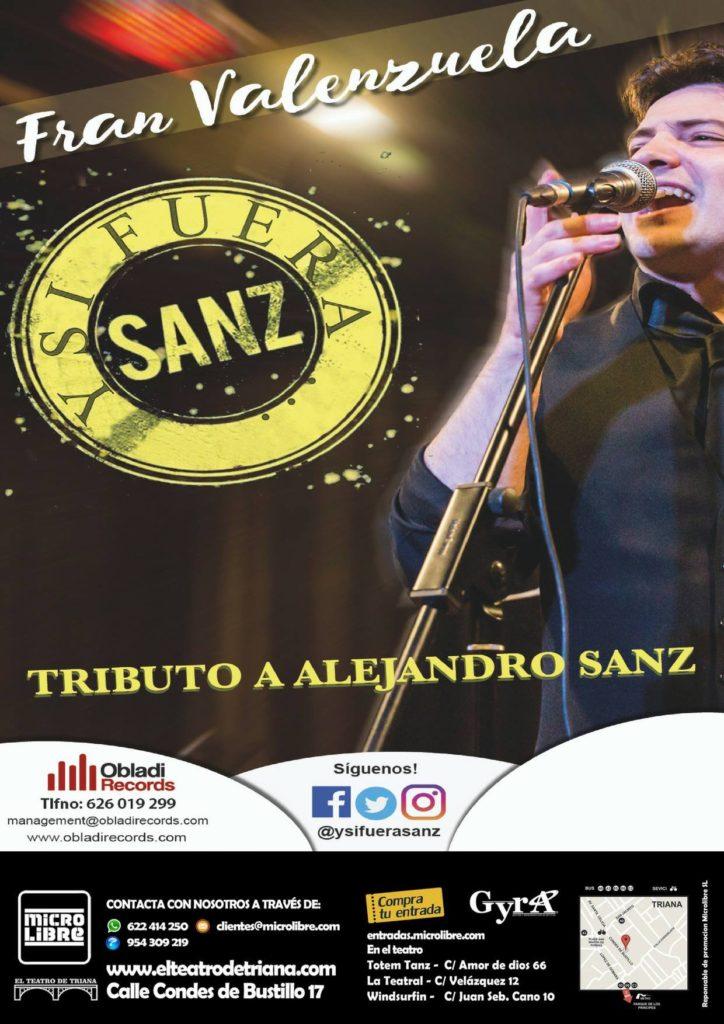 fran-valenzuela-tributo-alejandro-sanz-el-teatro-de-triana-cartel