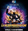 """FSO Tour 19-20 """"La mejor música de cine en concierto"""". FIBES, Sevilla 2019"""