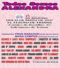 Gala benéfica: todos somos Alexandra. En El Teatro de Triana, Sevilla