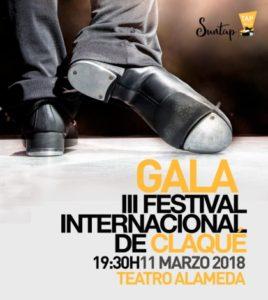 Gala de clausura del III Festival Internacional de Claqué. Teatro Alameda Sevilla