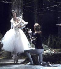 Obra de ballet Giselle.