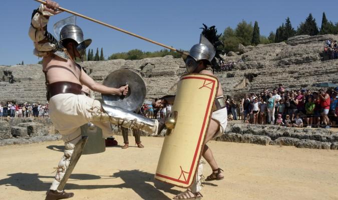 gladiadores-en-italica-sevilla