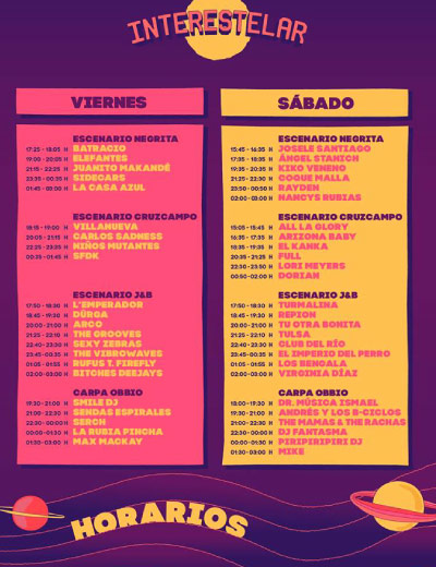 horarios-interestelar-sevilla-centro-andaluz-de-arte-contemporaneo-2018
