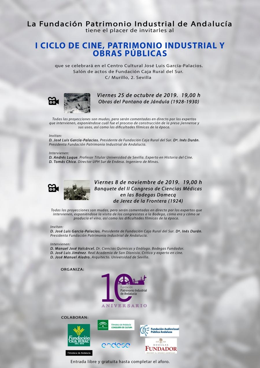 I Ciclo de Cine, Patrimonio Industrial y Obras Públicas. Sevilla