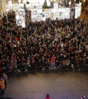 Encendido de las luces de Navidad en Sevilla