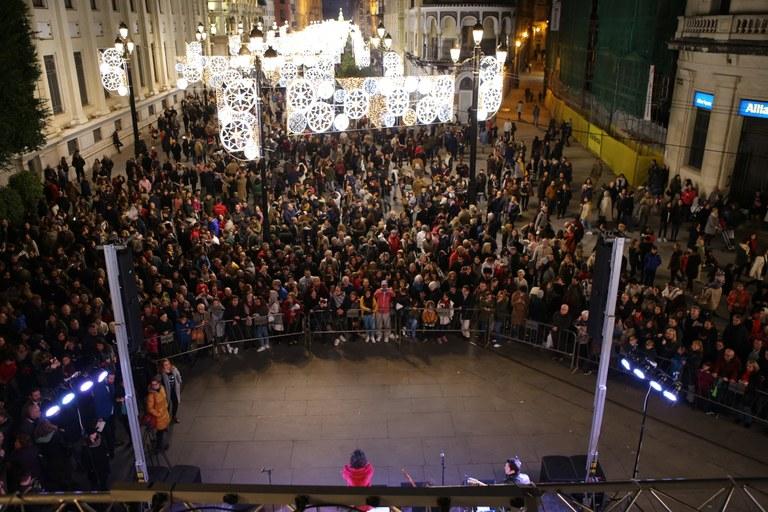 Alumbrado de Navidad en Sevilla. Iluminación navideña