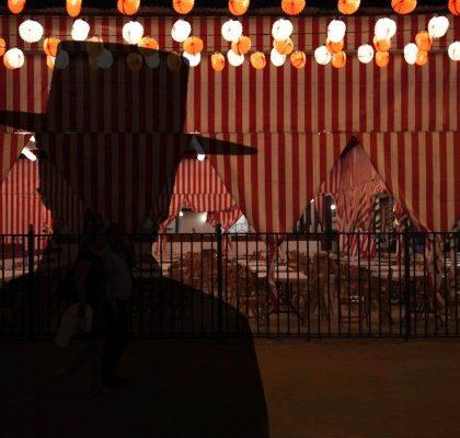 Fantasmas en la Feria de Sevilla.