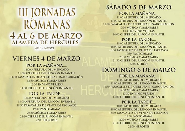 jornadas-romanas-alameda-hercules-marzo-2016-programa