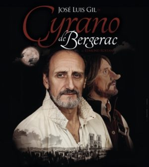 """Cyrano de Bergerac"". José Luis Gil protagoniza la obra de Edmond Rostand. Teatro Lope de Vega, Sevilla."