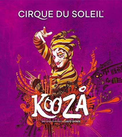 Cirque du Soleil · KOOZA, nuevo espectáculo en Sevilla del Circo del Sol · Bajo su Gran Carpa