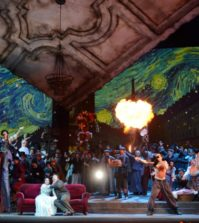 LA BOHÈME. Ópera en el Teatro de la Maestranza, Sevilla.