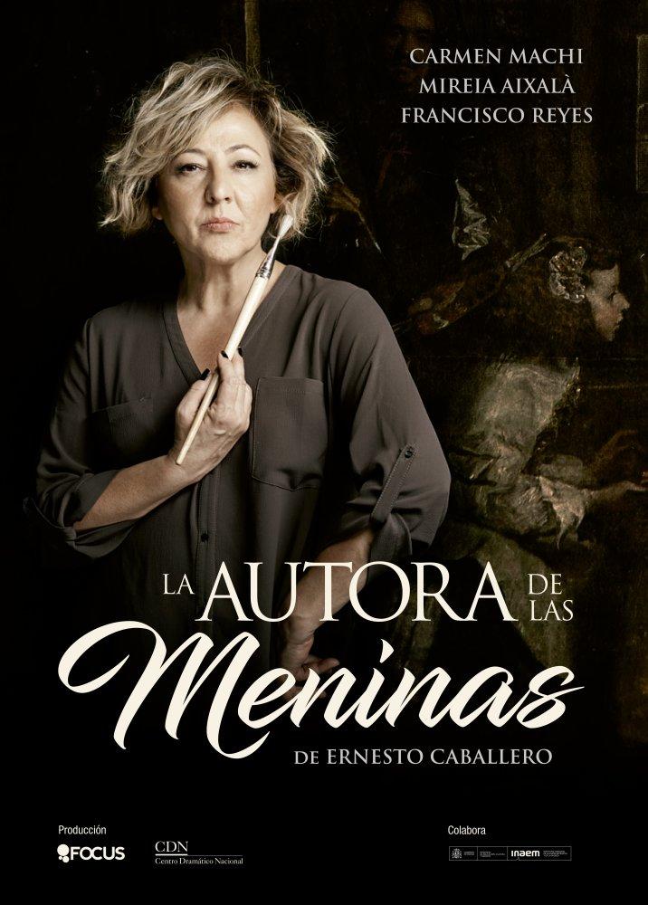 'La Autora de las Meninas' de Ernesto Caballero. Carmen Machi en Teatro Lope de Vega, Sevilla