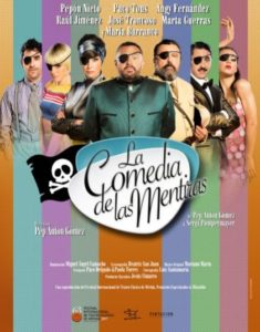 """""""La comedia de las mentiras"""" con Paco Tous, María Barranco y Pepón Nieto. Teatro Lope de Vega, Sevilla."""