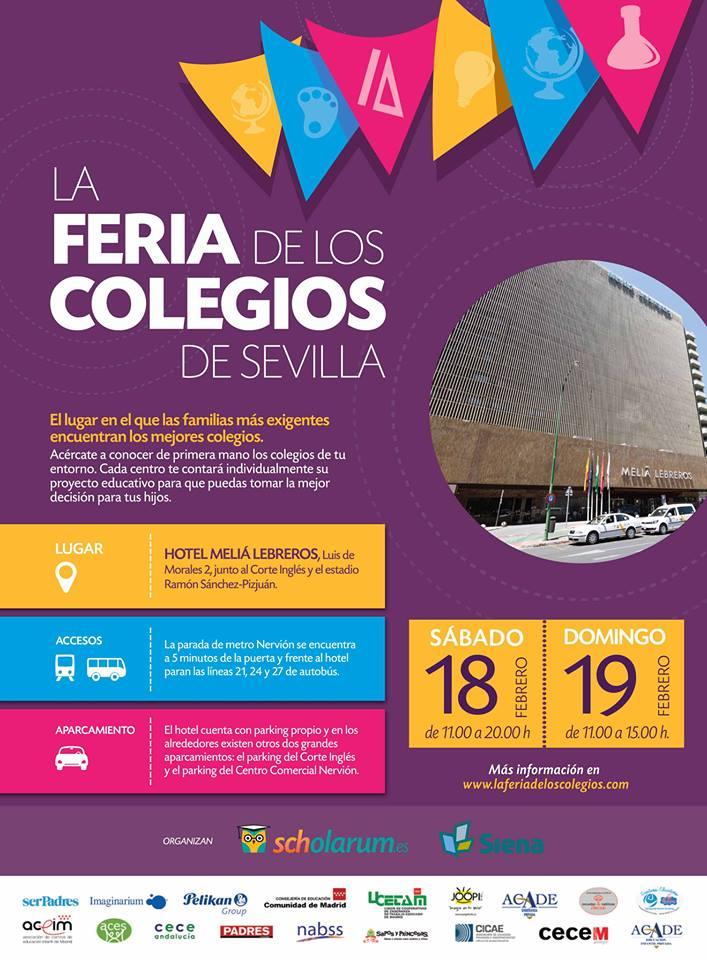 La Feria de los Colegios de Sevilla 2017