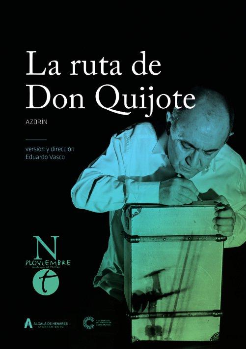 la-ruta-de-don-quijote-azorin-teatro-lope-de-vega-sevilla-cartel