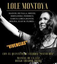 Lole Montoya con el Quinteto de Cuerda 'Nuevo día'. Teatro Lope de Vega, Sevilla