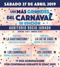 Los más Grandes del Carnaval 2019 - Auditorio Rocío Jurado Sevilla