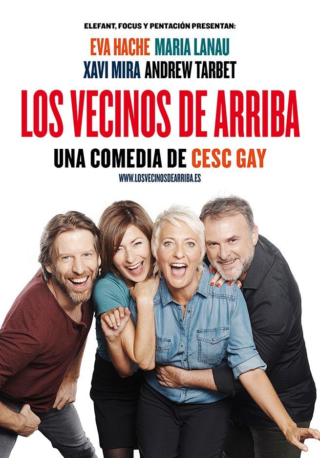 'Los vecinos de arriba', una comedia de Cesc Gay. Teatro Lope de Vega, Sevilla
