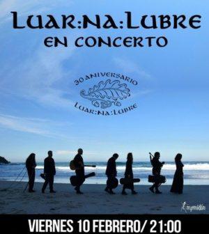 Luar Na Lubre en Concierto. Teatro de Triana, Sevilla