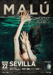 Concierto Malú Oxigeno Tour Sevilla 2019 – Auditorio Rocío Jurado