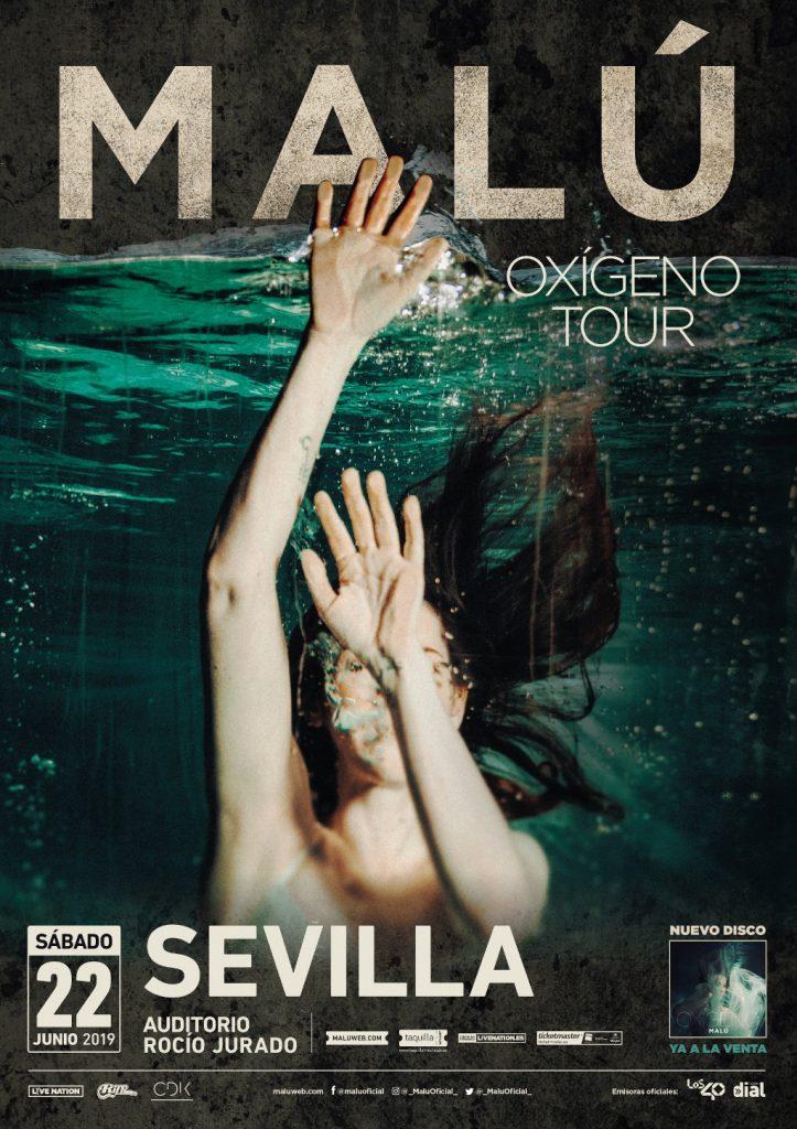 Malú Oxigeno Tour - Sevilla 2019
