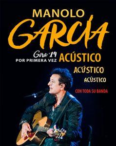 Concierto MANOLO GARCÍA – GIRA ACÚSTICO – Fibes Sevilla 2019
