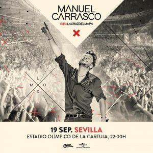Manuel Carrasco – Gira La Cruz del Mapa – Estadio de la Cartuja Sevilla