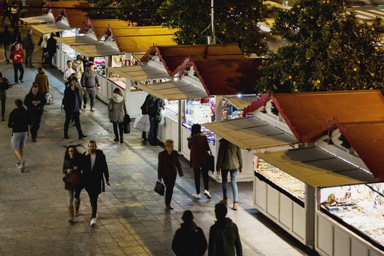 Mercado de Navidad en Nervión, Sevilla