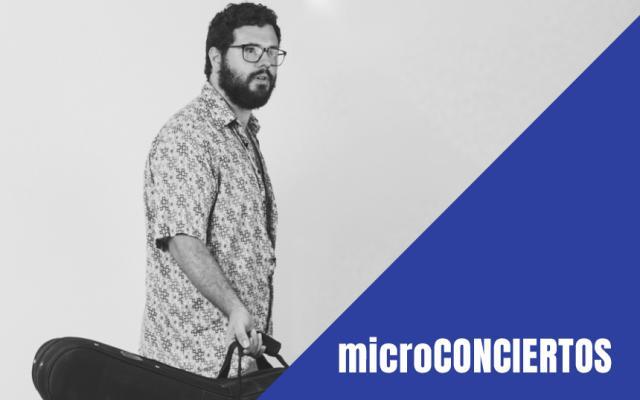 Microconcierto Álvaro Ruíz, guitarra y voz- CaixaForum Sevilla 2019