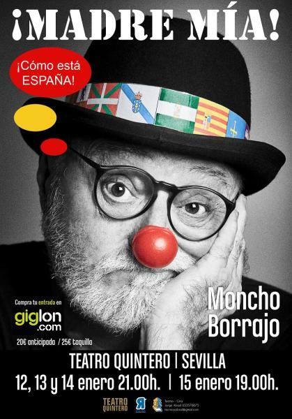 Moncho Borrajo Sevilla 2017 Teatro Quintero