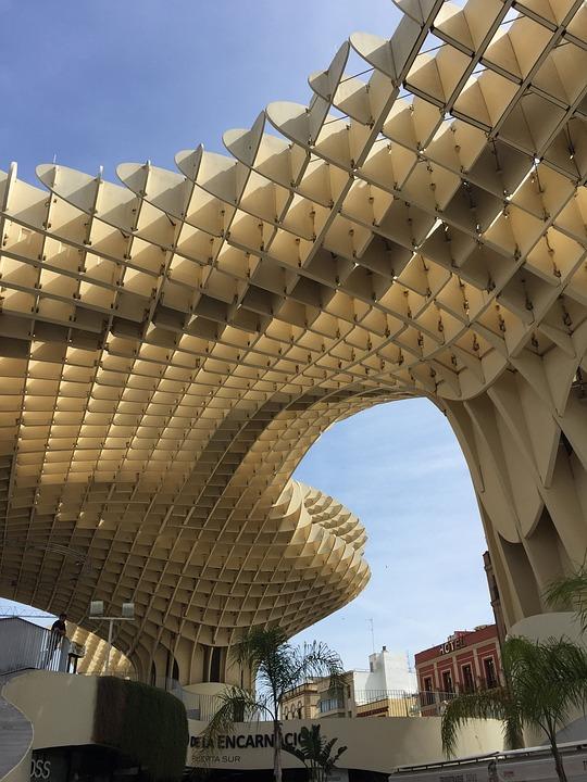 Setas de Sevilla. Plaza de la encarnación.