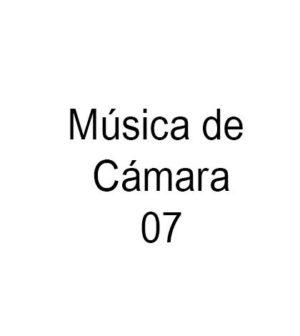 Música de Cámara. Concierto VII. Real Orquesta Sinfónica de Sevilla. Teatro de la Maestranza