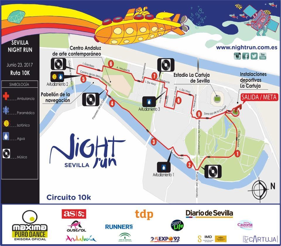 Circuito Night Run : Projeto arena e circuito night run portal netcampos